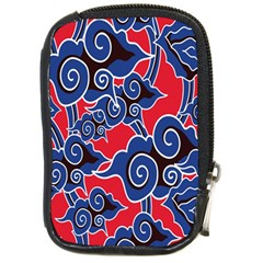 Batik Background Vector Compact Camera Cases by BangZart
