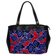 Batik Background Vector Office Handbags by BangZart