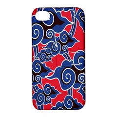 Batik Background Vector Apple Iphone 4/4s Hardshell Case With Stand by BangZart