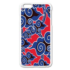 Batik Background Vector Apple Iphone 6 Plus/6s Plus Enamel White Case by BangZart