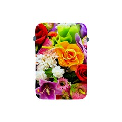 Colorful Flowers Apple Ipad Mini Protective Soft Cases by BangZart