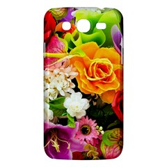 Colorful Flowers Samsung Galaxy Mega 5 8 I9152 Hardshell Case  by BangZart
