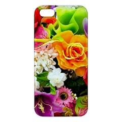 Colorful Flowers Iphone 5s/ Se Premium Hardshell Case by BangZart