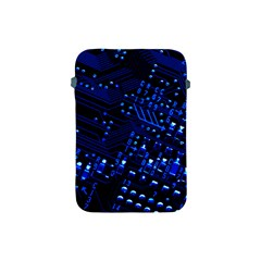 Blue Circuit Technology Image Apple Ipad Mini Protective Soft Cases by BangZart