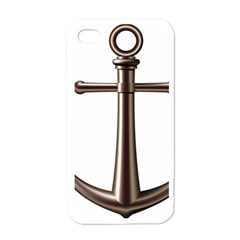 Anchor Apple Iphone 4 Case (white) by BangZart
