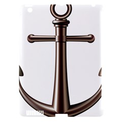 Anchor Apple Ipad 3/4 Hardshell Case (compatible With Smart Cover) by BangZart