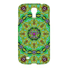 Golden Star Mandala In Fantasy Cartoon Style Samsung Galaxy S4 I9500/i9505 Hardshell Case by pepitasart