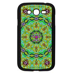 Golden Star Mandala In Fantasy Cartoon Style Samsung Galaxy Grand Duos I9082 Case (black) by pepitasart