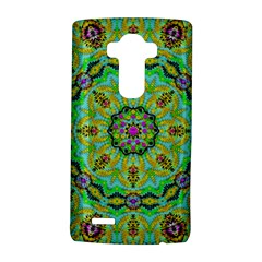 Golden Star Mandala In Fantasy Cartoon Style Lg G4 Hardshell Case by pepitasart