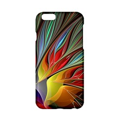 Fractal Bird Of Paradise Apple Iphone 6/6s Hardshell Case by WolfepawFractals