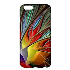 Fractal Bird Of Paradise Apple Iphone 6 Plus/6s Plus Hardshell Case by WolfepawFractals