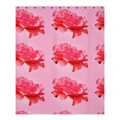 Pink Floral Pattern Shower Curtain 60  X 72  (medium)  by paulaoliveiradesign
