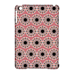 Black Stars Pattern Apple Ipad Mini Hardshell Case (compatible With Smart Cover) by linceazul