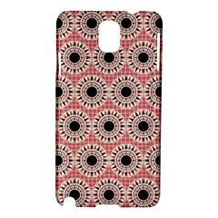 Black Stars Pattern Samsung Galaxy Note 3 N9005 Hardshell Case by linceazul