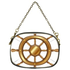 Boat Wheel Transparent Clip Art Chain Purses (one Side)  by BangZart