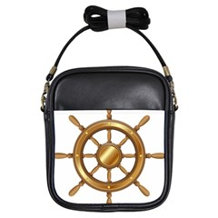 Boat Wheel Transparent Clip Art Girls Sling Bags by BangZart