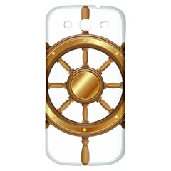 Boat Wheel Transparent Clip Art Samsung Galaxy S3 S Iii Classic Hardshell Back Case by BangZart