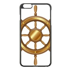 Boat Wheel Transparent Clip Art Apple Iphone 6 Plus/6s Plus Black Enamel Case by BangZart