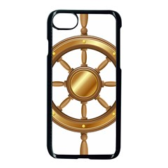 Boat Wheel Transparent Clip Art Apple Iphone 7 Seamless Case (black) by BangZart