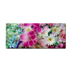 Colorful Flowers Patterns Cosmetic Storage Cases by BangZart