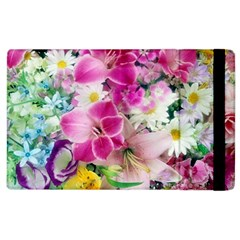 Colorful Flowers Patterns Apple Ipad 3/4 Flip Case by BangZart