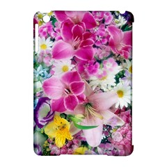 Colorful Flowers Patterns Apple Ipad Mini Hardshell Case (compatible With Smart Cover) by BangZart