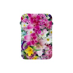Colorful Flowers Patterns Apple Ipad Mini Protective Soft Cases by BangZart