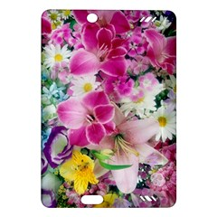 Colorful Flowers Patterns Amazon Kindle Fire Hd (2013) Hardshell Case by BangZart