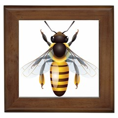 Bee Framed Tiles by BangZart