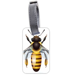 Bee Luggage Tags (two Sides) by BangZart