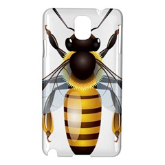 Bee Samsung Galaxy Note 3 N9005 Hardshell Case by BangZart
