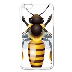 Bee Apple Iphone 6 Plus/6s Plus Enamel White Case by BangZart
