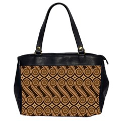 Batik The Traditional Fabric Office Handbags (2 Sides)  by BangZart