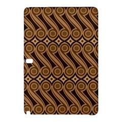 Batik The Traditional Fabric Samsung Galaxy Tab Pro 10 1 Hardshell Case by BangZart
