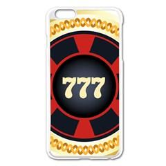 Casino Chip Clip Art Apple Iphone 6 Plus/6s Plus Enamel White Case by BangZart