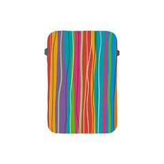 Colorful Striped Background Apple Ipad Mini Protective Soft Cases by TastefulDesigns