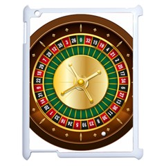 Casino Roulette Clipart Apple Ipad 2 Case (white) by BangZart