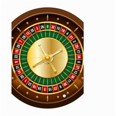 Casino Roulette Clipart Small Garden Flag (two Sides) by BangZart