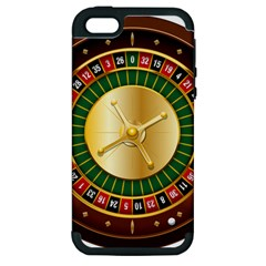 Casino Roulette Clipart Apple Iphone 5 Hardshell Case (pc+silicone) by BangZart