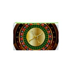 Casino Roulette Clipart Cosmetic Bag (xs) by BangZart