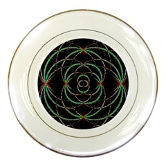 Abstract Spider Web Porcelain Plates by BangZart