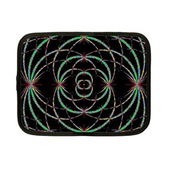 Abstract Spider Web Netbook Case (small)  by BangZart