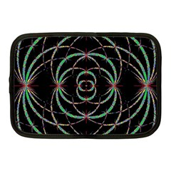 Abstract Spider Web Netbook Case (medium)  by BangZart