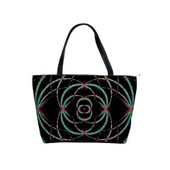 Abstract Spider Web Shoulder Handbags by BangZart