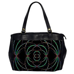 Abstract Spider Web Office Handbags by BangZart