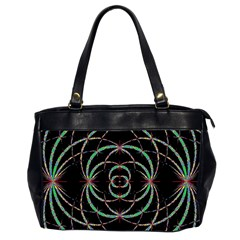 Abstract Spider Web Office Handbags (2 Sides)  by BangZart