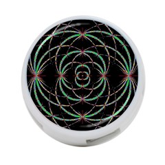 Abstract Spider Web 4 Port Usb Hub (two Sides)  by BangZart