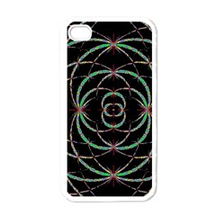 Abstract Spider Web Apple Iphone 4 Case (white) by BangZart