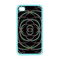Abstract Spider Web Apple Iphone 4 Case (color) by BangZart