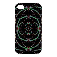 Abstract Spider Web Apple Iphone 4/4s Hardshell Case by BangZart